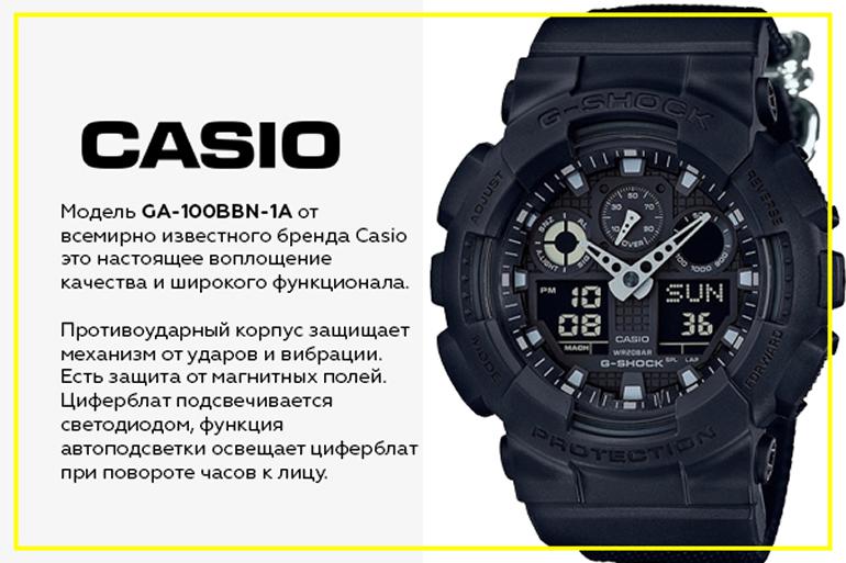 Casio GA-100BBN-1A