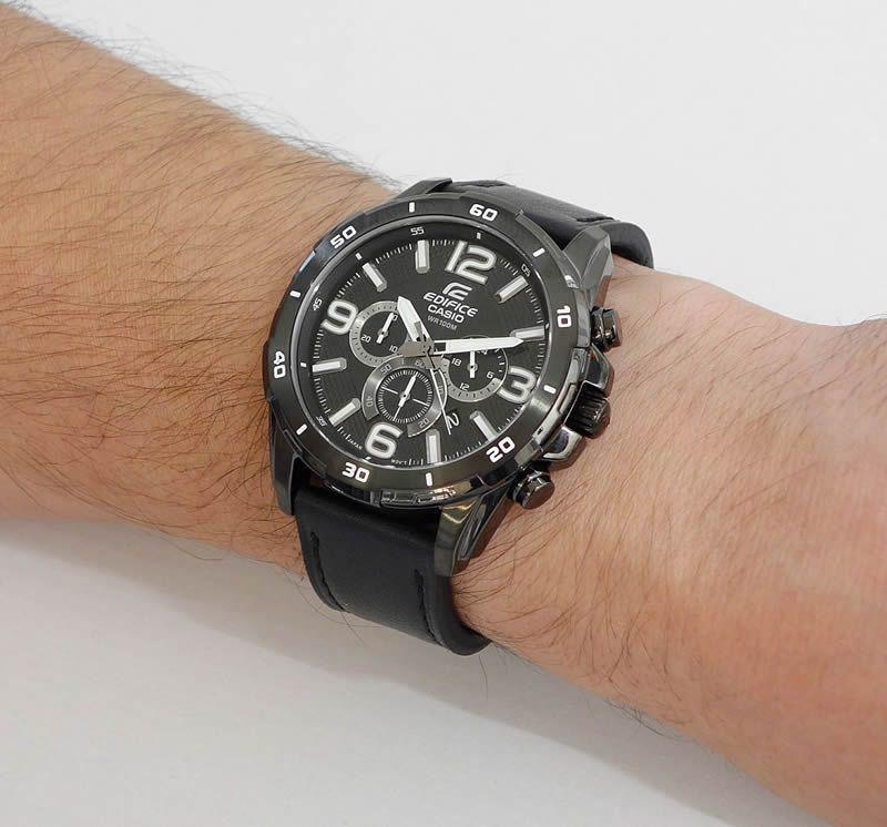 Мужские часы Casio EFR-538L-1A Женские часы Rhythm GS1607S09
