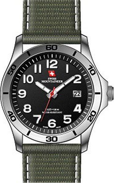 Мужские часы Swiss Mountaineer SML8011 Женские часы Morgan M1139SGMBR