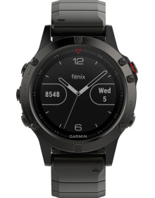 Часы Garmin Fenix 5 Sapphire with Metal Band (010-01688-21)