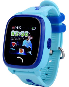Часы Smart Baby Watch DF25G (голубые)