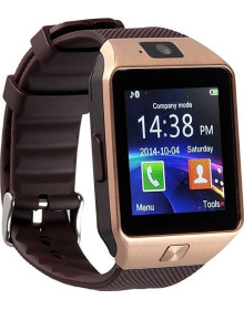 Часы Smart Watch DZ09 (бронзовые)