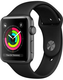 Часы Apple Watch S3 42mm Black (MQL12)