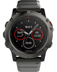 Часы Garmin Fenix 5x with Metal Band (010-01733-03)
